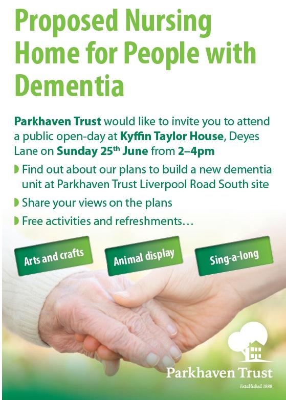 Parkhaven Trust Flyer