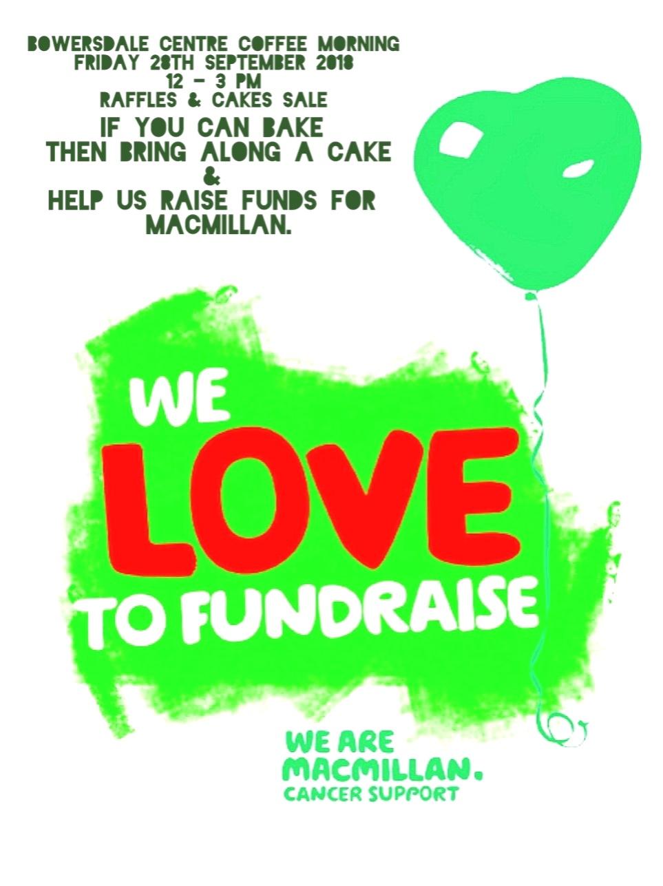 Bowersdale - Macmillan fundraiser