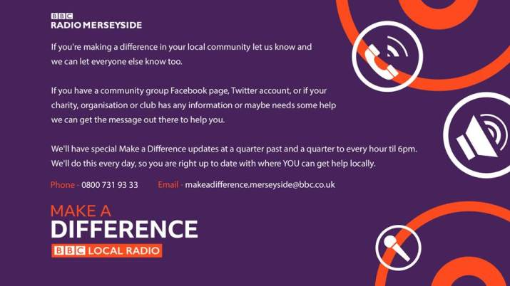 BBC Radio Merseyside Make a Difference